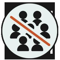 Consiglio anti-covid Cattolica... evita l'aggregazione