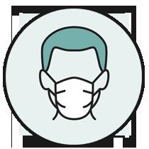 Usa la mascherina o rimani a 1 metro dalle persone